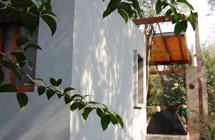 Casas de estilo industrial de Guadalupe Larrain arquitecta Industrial