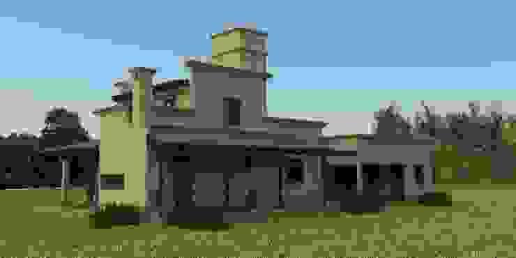 Proyecto de remodelación y ampliación de Vivienda unifamiliar Casas coloniales de Valy Colonial Ladrillos