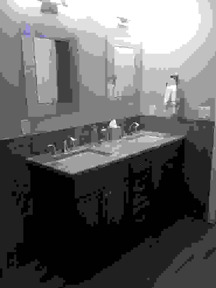 Basking Ridge Basement Bar Classic style bathroom by Kitchen Krafter Design/Remodel Showroom Classic