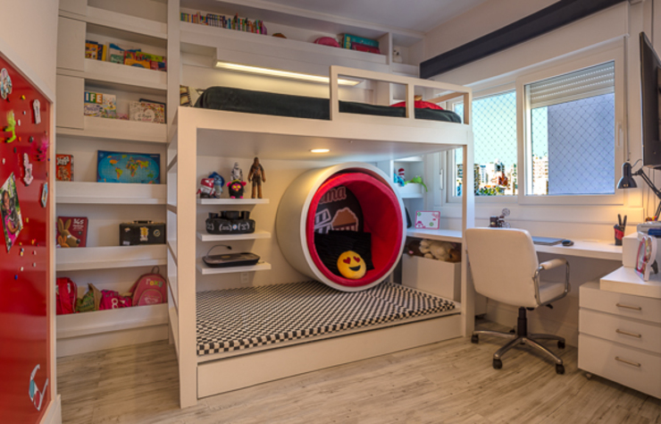 Quadrilha Design Arquitetura Kamar Bayi/Anak Modern
