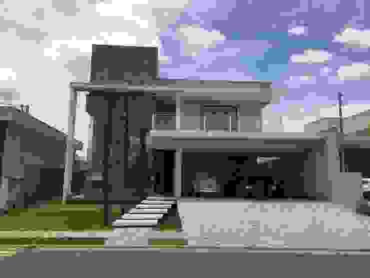 Rumah Modern Oleh Arquitetando e Inspirando Modern