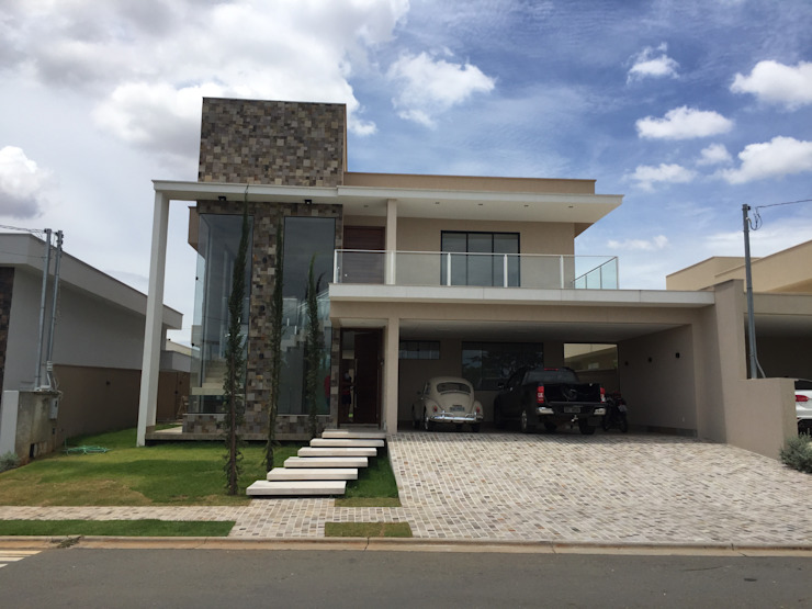 Moderne huizen van Arquitetando e Inspirando Modern