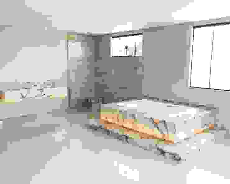 Casa C+W Arquitetando e Inspirando Banheiros modernos
