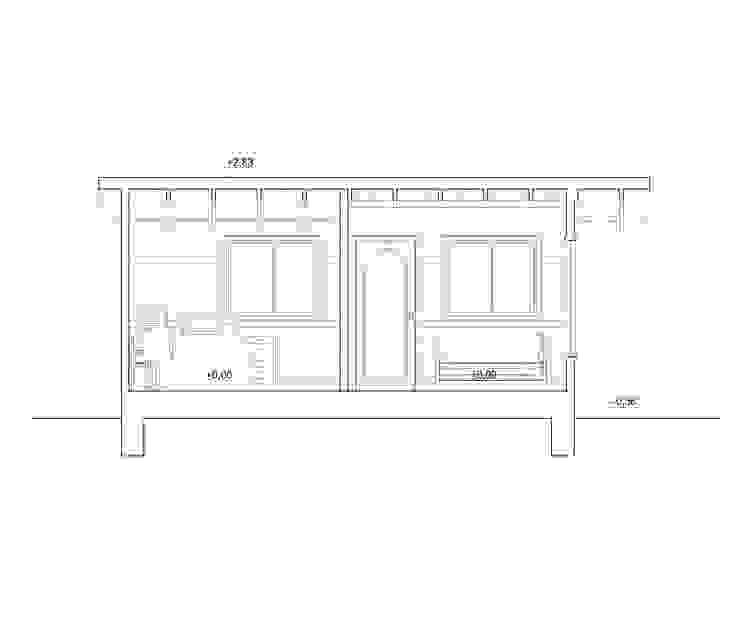 Corte de Arquitectura y Construcción Chinquel