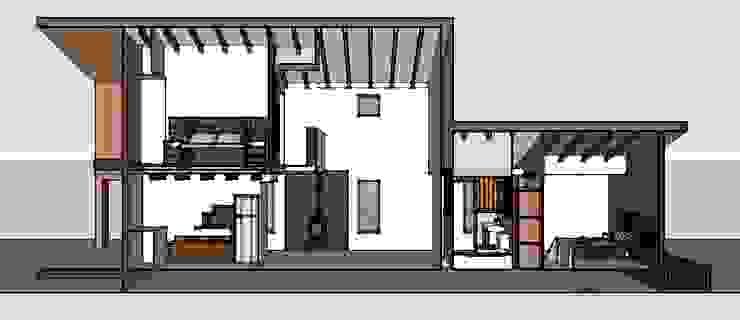 Cabaña 65 m2 de Arquitectura y Construcción Chinquel