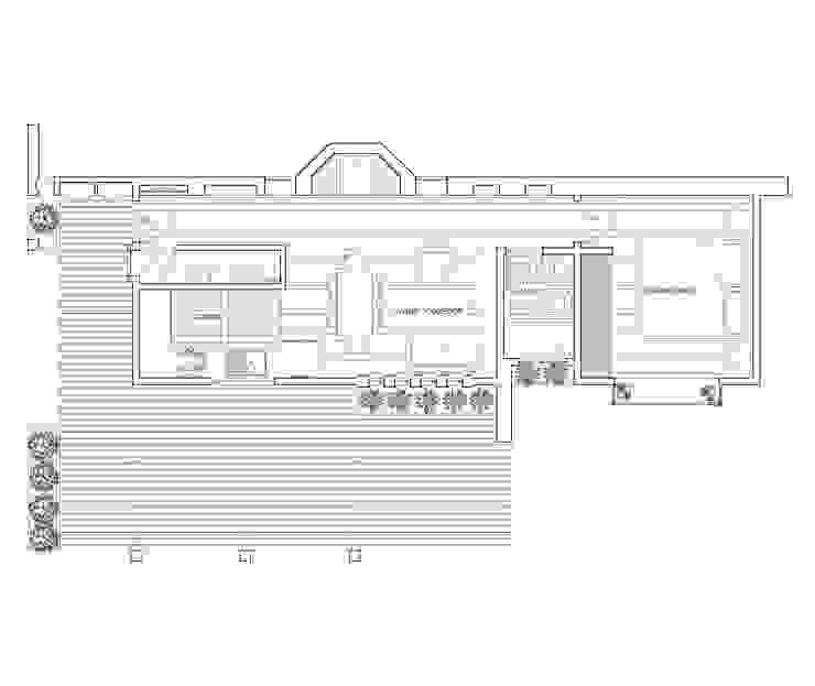 Planta 1 de Arquitectura y Construcción Chinquel