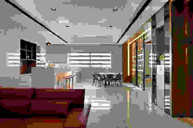 信美室內裝修 Salle à manger moderne