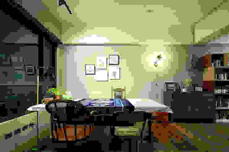 新竹蔡陳宅 根據 藍領設計 工業風