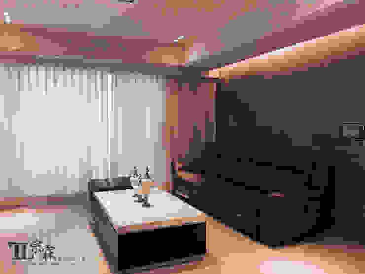 客廳 现代客厅設計點子、靈感 & 圖片 根據 宗霖建築設計工程 現代風