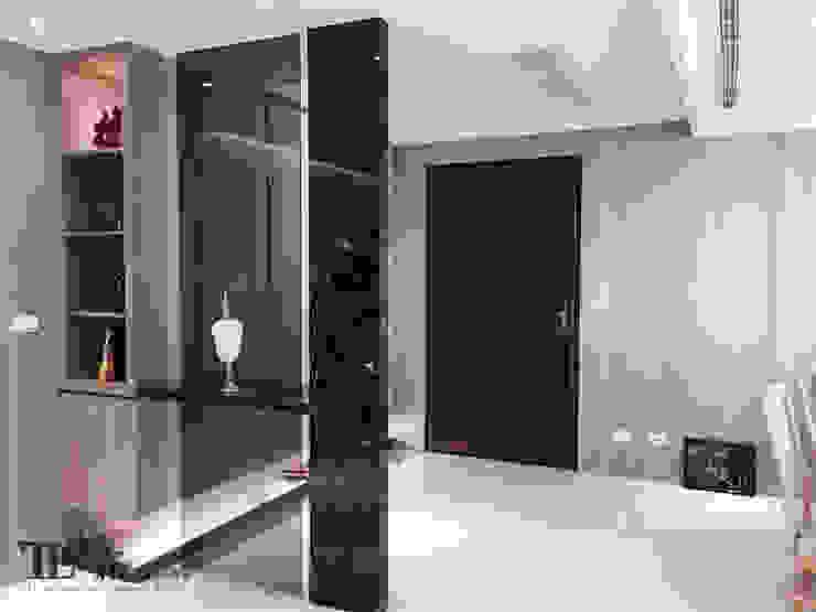 玄關 現代風玄關、走廊與階梯 根據 宗霖建築設計工程 現代風