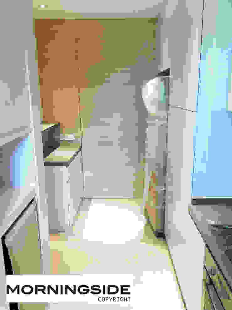 THOMSON ROAD PENTHOUSE CONDO UNIT Modern kitchen by MORNINGSIDE PTE LTD Modern