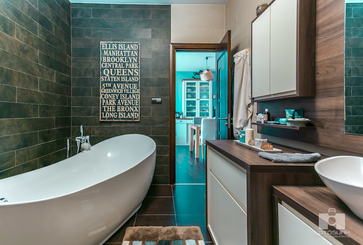 Real Estate - Budapest- HUN Scandinavian style bathrooms by Bata Tamas Photography Scandinavian