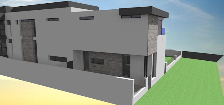 Steyn city project no 1 Modern gym by Pen Architectural Modern