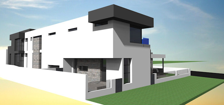 Steyn city project no 1 Modern houses by Pen Architectural Modern
