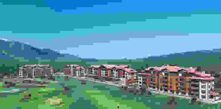 White Fir Resort in Bansko, Bulgaria by eNArch.info Modern