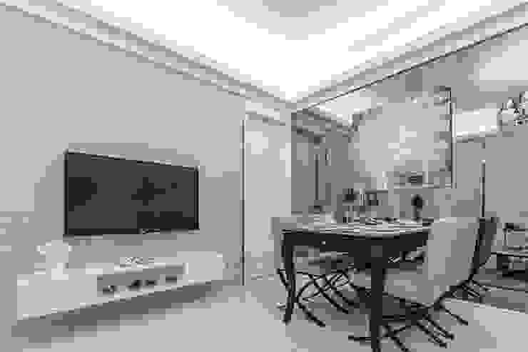 客餐廳結合 根據 你你空間設計 古典風