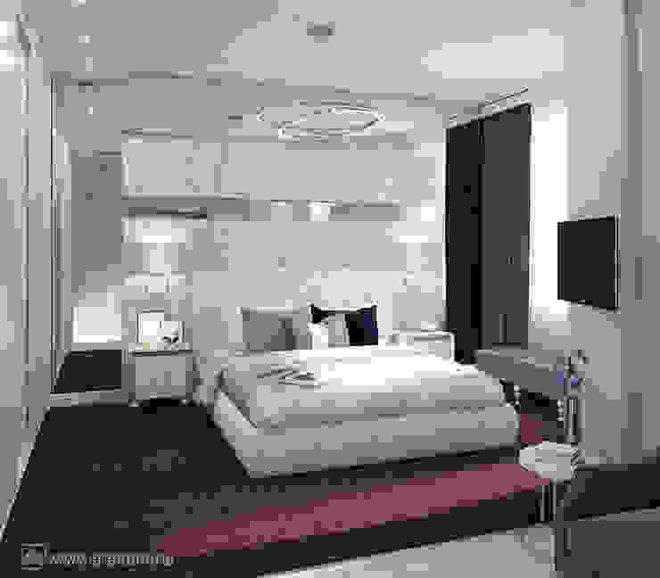 Вира-АртСтрой Minimalist bedroom Grey