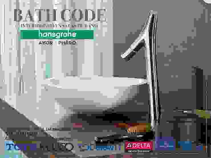 BATH CODE Baños modernos de BATH CODE Interiorismo en salas de baño Moderno