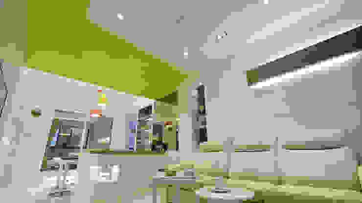 Salas de estar modernas por 瓦悅設計有限公司 Moderno