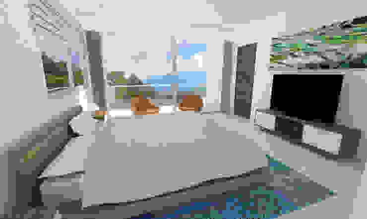 Habitación Habitaciones modernas de Viewport - Servicio de renderizado Moderno Madera Acabado en madera