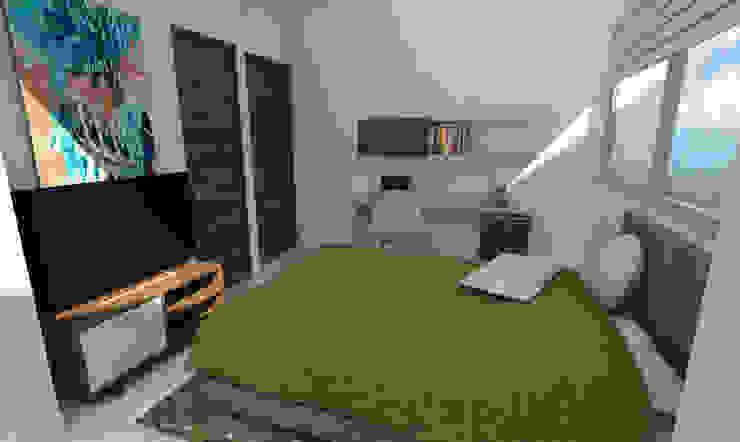 Habitación 2 Habitaciones modernas de Viewport - Servicio de renderizado Moderno Madera Acabado en madera