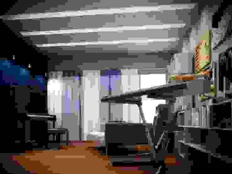 Music Room - Casa Reza Estudios y despachos modernos de JIMDR Arquitectos Moderno