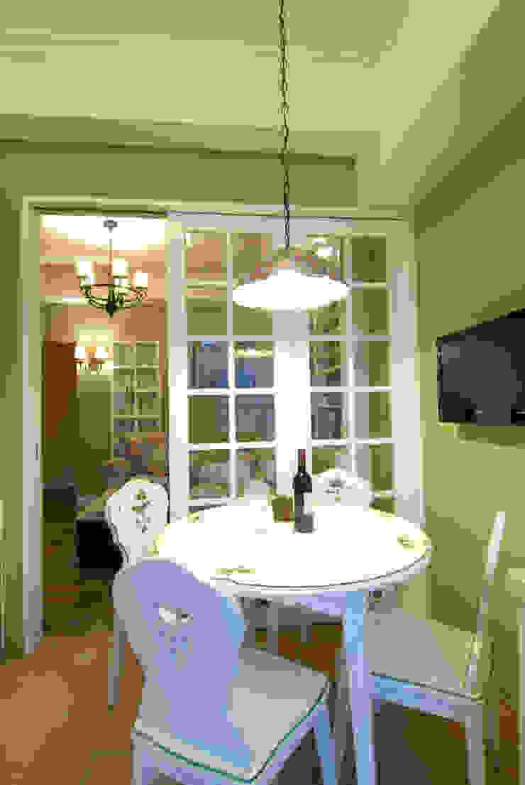 開放式餐廳 根據 浩司室內裝修設計有限公司 HOUSE INTERIOR DESIGN 鄉村風