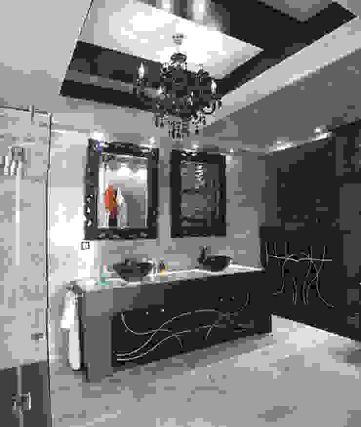 APARTMENT VD SOFIA Minimalist style bathroom by eNArch.info Minimalist