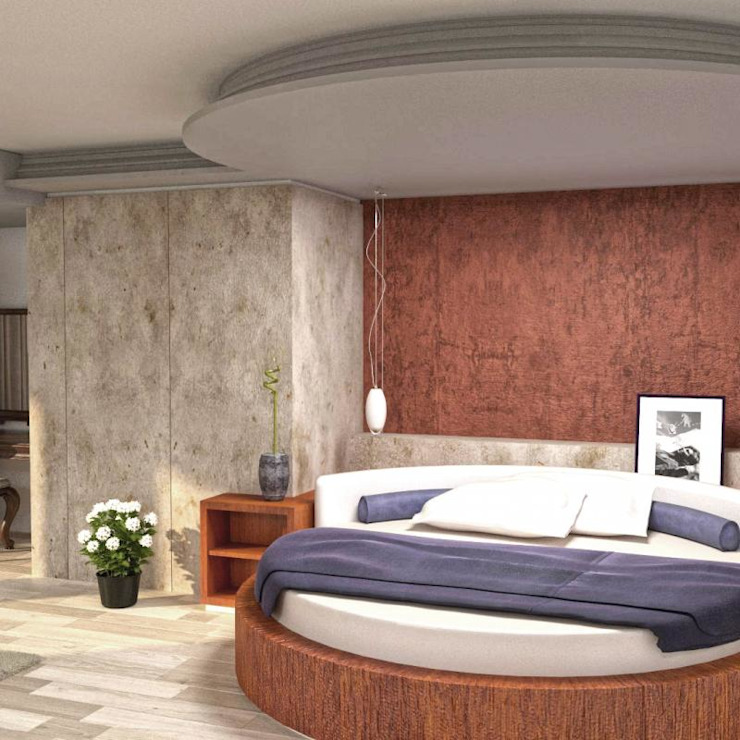 Apartment in Sliven Modern style bedroom by eNArch.info Modern