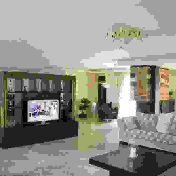 House PZ Sofia Modern living room by eNArch.info Modern