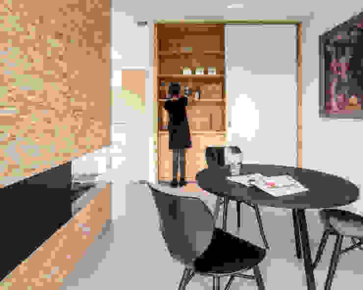 Villa V Minimalistische eetkamers van Architectenbureau Paul de Ruiter Minimalistisch