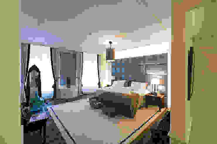 Atelier Denessen Architecture Eclectic style bedroom