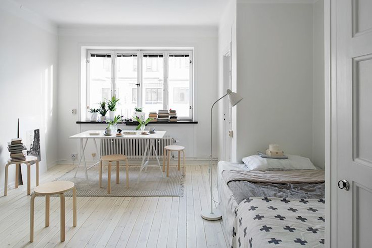 modern  by Incs Design Studio, Modern Flax/Linen Pink
