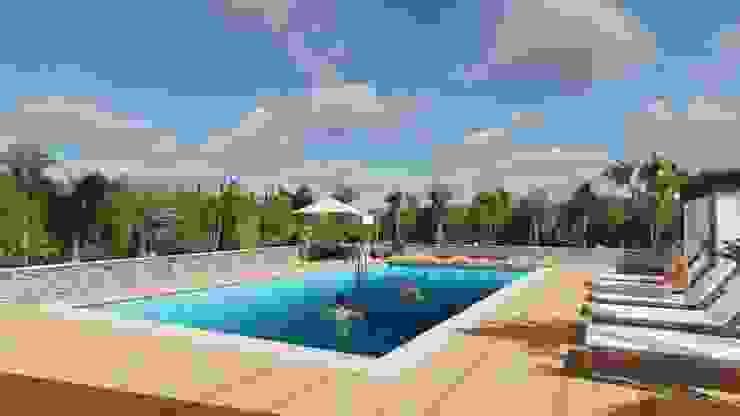 Planet G Mediterranean style pool