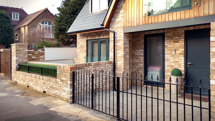 New House in Rockland Road, Putney, SW15 2LN Modern home by 4D Studio Architects and Interior Designers Modern Bricks