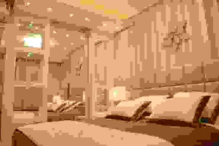Quarto de Casal Contemporâneo Habitaciones modernas de DecaZa Design Moderno Tablero DM