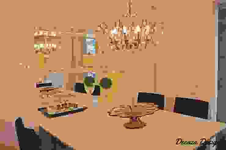 Sala Estar e Jantar em Destaque DecaZa Design Modern Dining Room