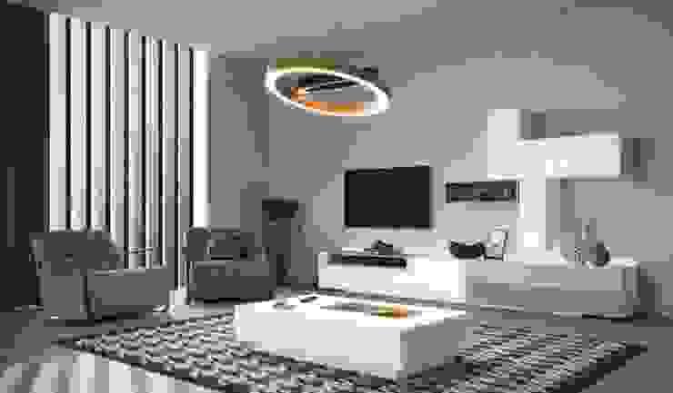 mueble salon de homify Moderno