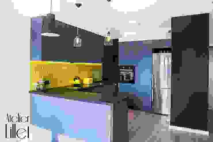 Pracownia projektowa Atelier Lillet Modern kitchen