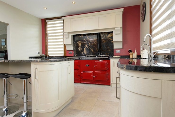 Mr & Mrs Moreton's Kitchen by Room Classic Solid Wood Multicolored