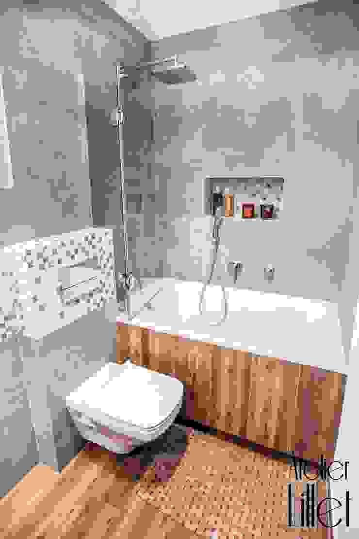 Pracownia projektowa Atelier Lillet Phòng tắm phong cách hiện đại