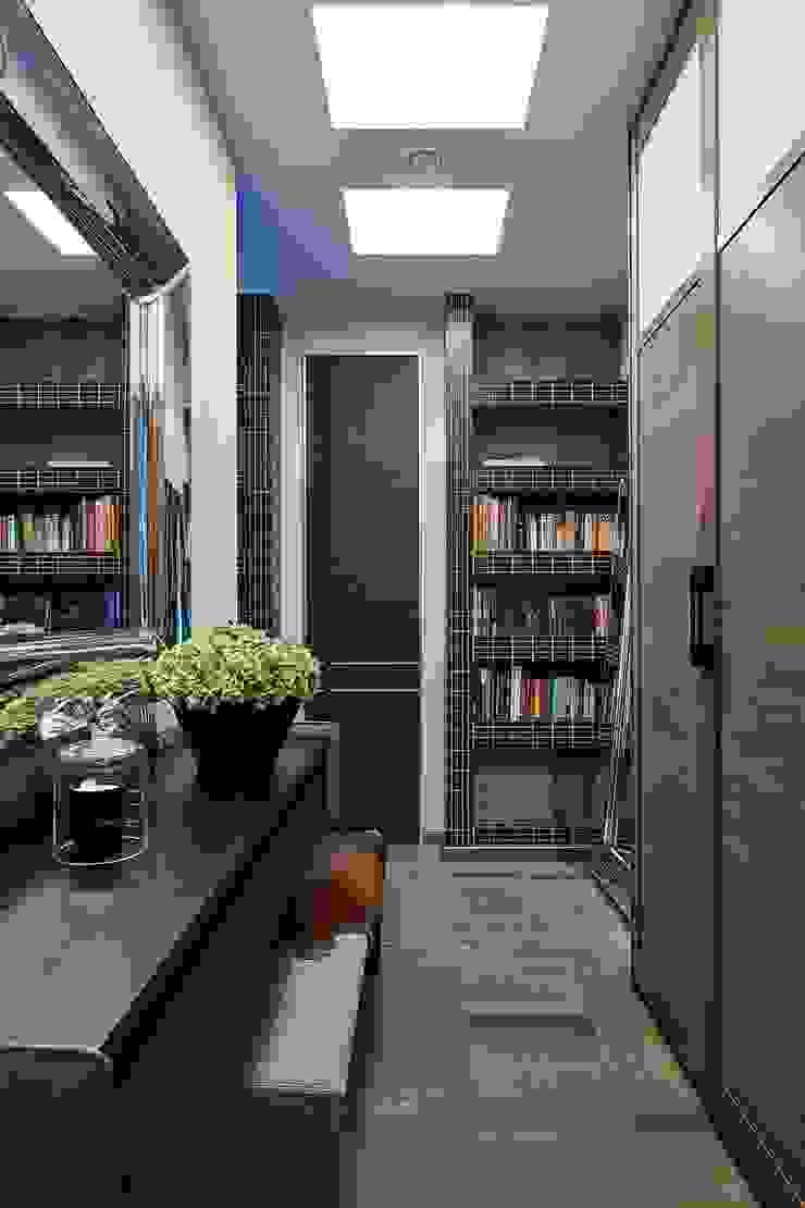 Modern corridor, hallway & stairs by Вира-АртСтрой Modern