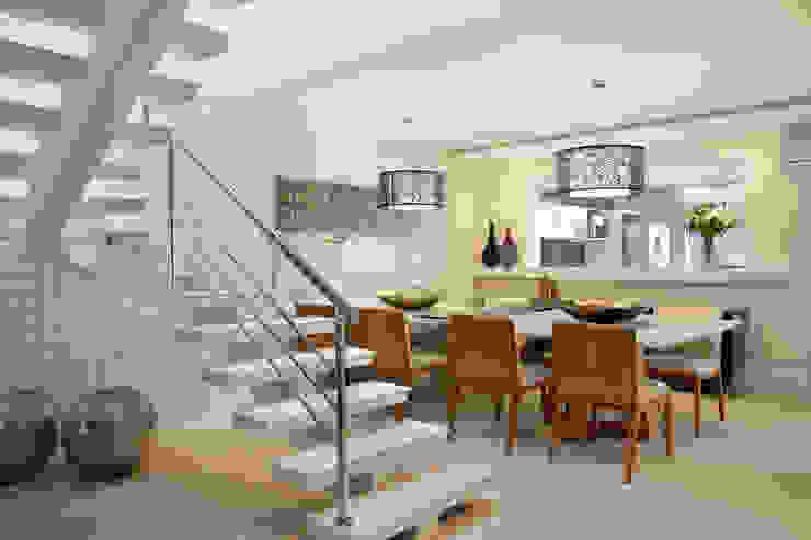 Ruang Makan Modern Oleh Virna Carvalho Arquiteta Modern