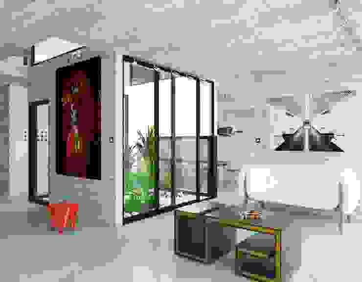 Propuesta interiores. Salones minimalistas de Eidética Minimalista