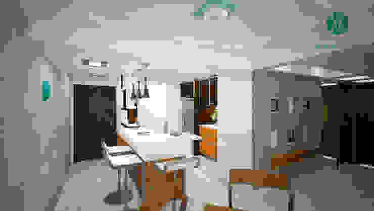 Modern living room by Vanguardia Arquitectónica Modern
