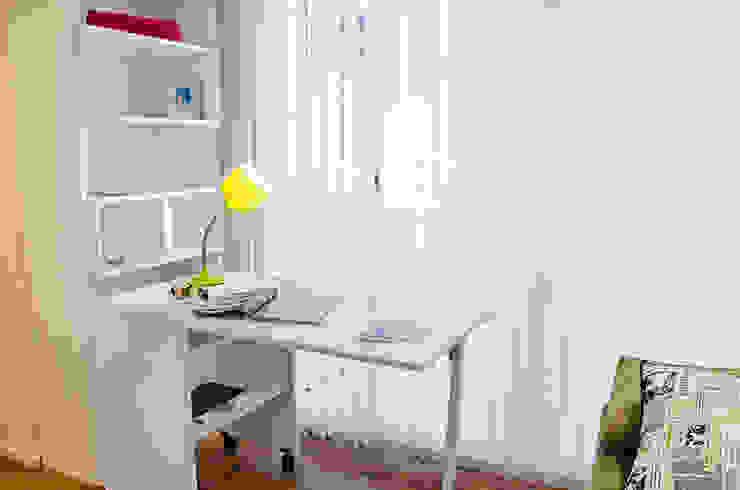 Millenials' Apartment Majo Barreña Diseño de Interiores Estudios y oficinas modernos