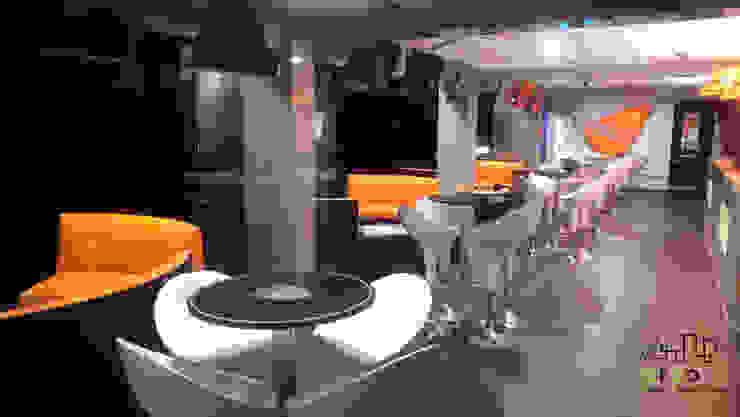 Remodelación Palco VIP Estadios de estilo moderno de ARCO +I Moderno