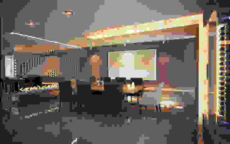 10.- BOSQUE REAL Moderne Esszimmer von TARE arquitectos Modern