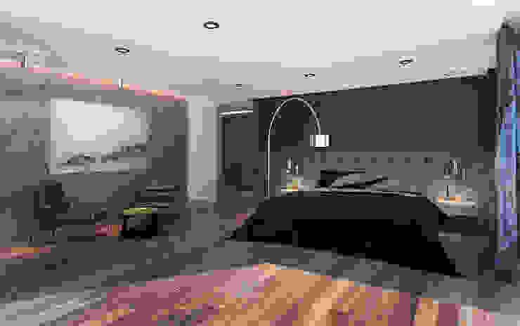 10.- BOSQUE REAL Moderne Schlafzimmer von TARE arquitectos Modern