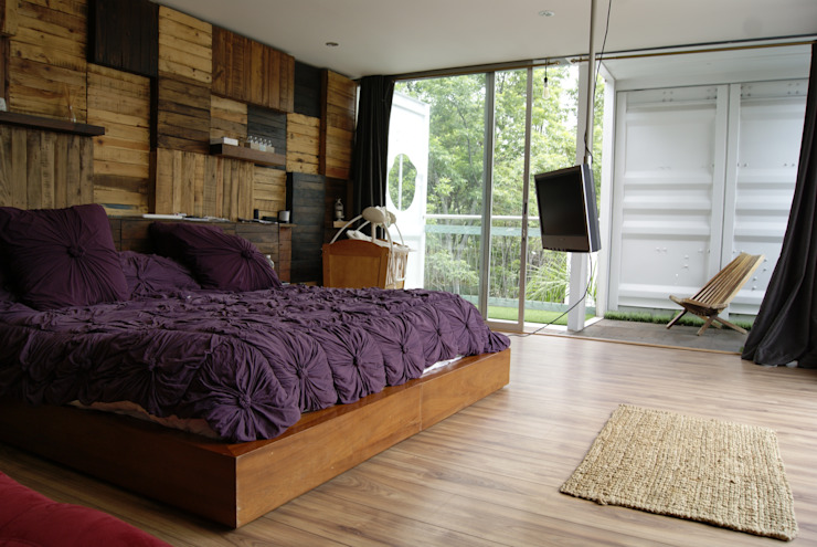 Modern style bedroom by TARE arquitectos Modern